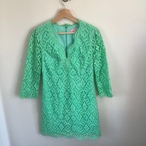 Green Lace Lilly Pulitzer Dress